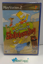 SONY Playstation 2 PS2 PAL Conf. in ITALIANO Nuovo - THE SIMPSONS SKATEBOARDING