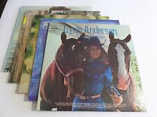 Lot Of 5 Female Country LP Wholesale Lynn Anderson Donna Fargo Vinyl Record