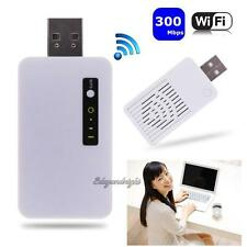 300M Wireless USB WiFi Repeater Network Router Signal Range Extender Booster NEW