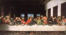 The Last Supper  by Leonardo da Vinci  Giclee Canvas Print Repro