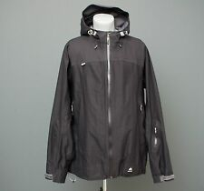 MISSING LINK Mens Black GORE-TEX Soft Shell Zip Jacket Hooded Neck Size XXL