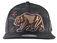 Dissizit! Camo New Era CRVS California Republic Bear Snapback Baseball Hat NWT