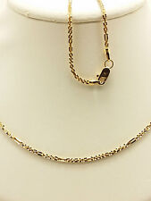18k Solid Rose Gold Sparkle Fancy Star Necklace/ Chain 3.44 Grams