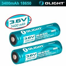 Olight Protected 3400mAh 18650 Rechargeable Battery for M22 M20S M18 M20X M20X