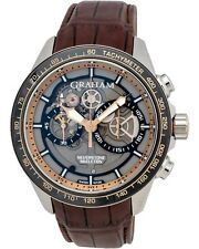 Graham Silverstone RS Skeleton Golden Chronograph Men's Watch Retail $16,560