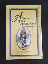 Alice in Wonderland Deck and Book Set brand new sealed