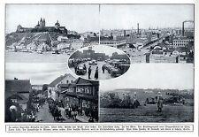 Ansicht von Plozk * Lodz * Kraftwagenpark * Mlawa (Weltkrieg) 1914 * WW 1