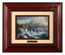Thomas Kinkade Conquering the Storms - Brushwork (Brandy Frame)