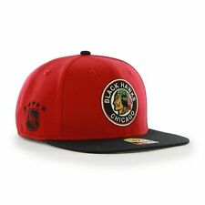Chicago Blackhawks NHL - Vintage Hockey - '47 Brand Snapback Hat/Cap - Sure Shot