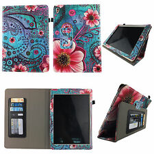 PK FLOWER PAISLEY FOLIO CASE IPAD PRO 9.7 SLIM FIT POCKET STANDTABLET COVER