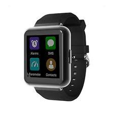 Q1 Android 5.1 WiFi GPS 3G NANO SIM Bluetooth Smart Watch Heart Rate Phone Black