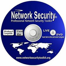Windows Internet Network Security Toolkit Live Operating system Bootable DVD