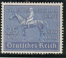 TIMBRE ALLEMAGNE  NEUF * CHARNIERE  N° 637  DERBY DE HAMBOURG