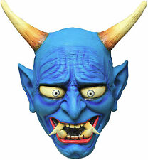 Blue Oni Demon Adult Latex Mask Japanese Devil Halloween Ghoulish Productions
