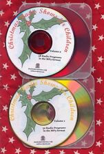 CHRISTMAS 2 mp3 cd 110 Children's OTR radio shows Cinnamon Bear Lux Lets Pretend