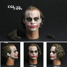 CGL T-09C 1/6 Scale Batman Joker Headplay Heath Ledger Head Sculpt