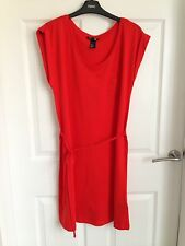 Ladies Red H & M Dress - Size Small