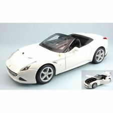 Ferrari California T (Open Top) 2014 White 1:18 Model BBURAGO