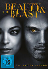 4 DVDs * BEAUTY & (AND) THE BEAST - STAFFEL / SEASON 3 # NEU OVP +