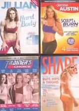 Womens Workout Fitness Exercise Great Trainers All Body Parts 4 DVD Lot NEW