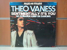 """THEO VANESS sentimentally it's you 12"""" MAXI 45T"""