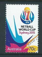 AUSTRALIEN 2015 NETZBALL WORLD CUP FEIN GEBRAUCHT