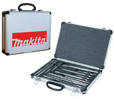 Makita D-21200 17 Piece SDS Plus Drill Bit Set + Chisel Set + Metal Case