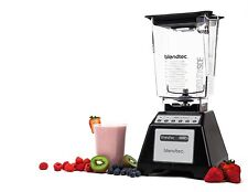 The Black Blendtec Total Blender, WildSide Jar - Manufacturer Refurbished