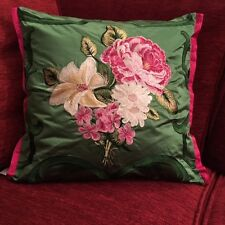 DESIGNERS GUILD FABRIC ROYAL COLLECTION EMERALD VERITY CUSHION COVER 45x45cm