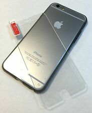 ULTRA THIN CLEAR CASE+TEMPERED GLASS BUNDLE FOR IPHONE 6 PLUS/6S PLUS USA SELLER