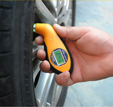 Motor Vehicle Car Truck Bike Van Tyre Tire Air Pressure Gauge Digital Tester
