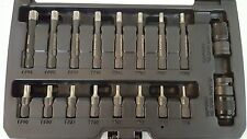 Steelman PRO 18pc Diamond Coated, Impact Star/ Torx Bit Socket Set #78764