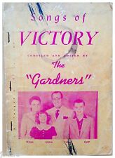 1949 THE GARDNERS SONGS OF VICTORY SONG BOOK, CHRISTIAN MUSIC, SPRINGFIELD, MO