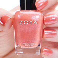 ZOYA ZP838 ZAHARA Opalescent Coral Nail Polish Petals Collection
