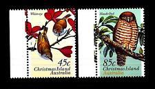 CHRISTMAS ISLAND - 1996 - Protezione della natura. Fauna. Uccelli