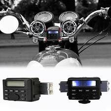 Waterproof Motorcycle Audio FM MP3 Radio Sound System Stereo For Honda Cruiser
