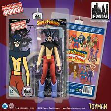 SUPER FRIENDS SERIES 4; TOYMAN  8 INCH ACTION FIGURE ;NEW; MOSC in stock