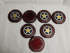Lot of 7 Apollo Coaster Guest Pagers Replacement