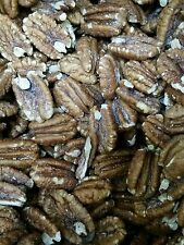 Mammoth Pecan Halves: Roasted, Salted. 5 Lbs.