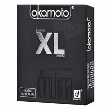 Okamoto XL Extra large Size Smooth Condom with Natural Lubricated 54mm