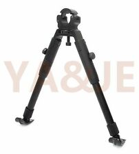 9''-11''Rifle gun barrel clamp bipod spring return rest bipods steel stand