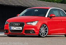 Spoilerschwert Frontspoilerlippe Cuplippe aus ABS für Audi A1 Sportback mit ABE