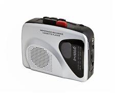 Groove personale lettore di cassette & REGISTRATORE NASTRO RETRÒ RADIO AM/FM con altoparlante