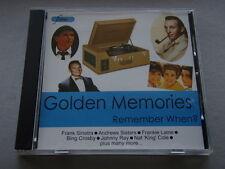 GOLDEN MEMORIES - REMEBER WHEN? - CD