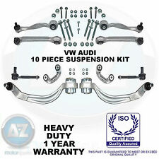 For A4 Passat A6 Superb Front suspension top bottom wishbones control arms kit
