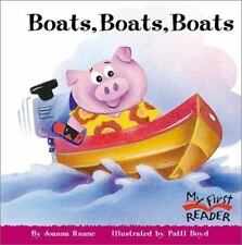 My First Reader: Boats, Boats, Boats by Joanna Ruane (2004, Paperback)