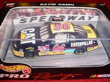 BRAND NEW NASCAR HOT WHEELS PRO RACING DAVID GREEN #96 CATTERPILLAR RACING