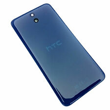 100% Genuine HTC Desire 610 rear battery cover+camera glass lens Blue back+NFC