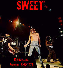 THE SWEET Live Grona Lund Amusment Park Sweden 5-5-1976 CD
