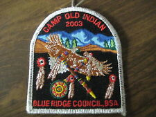 Camp Old Indian Pocket Patch cpp